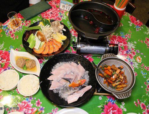 [南投鹿谷溪頭] 妖怪村主題餐廳(妖怪小學堂):暖胃暖心的鱘龍魚火鍋套餐,運用在地食材的新鮮美味:醬筍獅子頭.三杯香芋黃金磚~