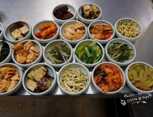 [桃園林口] CP值超高:韓式小菜吃到飽(銅盤烤肉/豆腐鍋/石鍋拌飯/海鮮煎餅):長庚旁邊:韓之味,大學生的最愛(平均消費200元)。