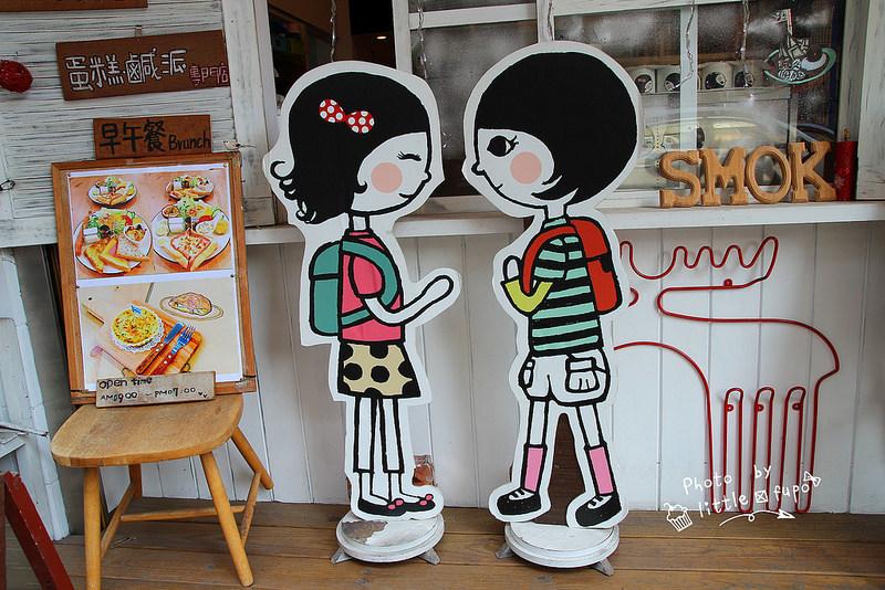 [南投草屯]永不向命運低頭的幸福童漾SMOK Cafe&Shop,必點爆漿牽絲的吐司和有機草莓,做公益幫助更多人,加油!(公益店家/美味早午餐/下午茶) @小腹婆大世界