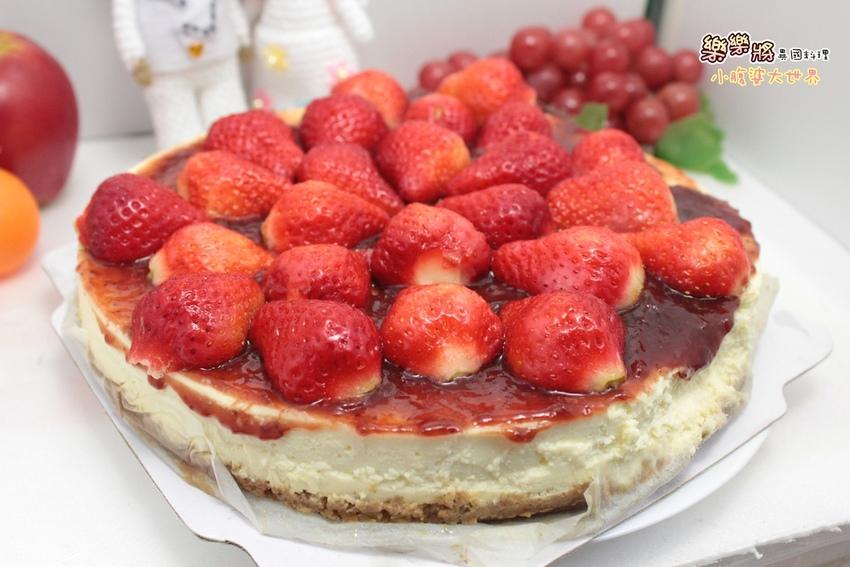 【高雄美食】樂樂將異國風味料理,激推超神濃有機草莓手工起司蛋糕≧◇≦酸甜的好滋味,宅配美食 @小腹婆大世界