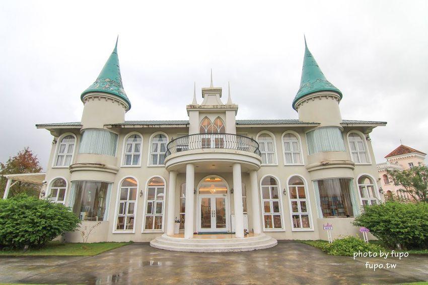 宜蘭城堡民宿》希格瑪花園城堡:美麗的米白尖塔城堡和粉紅城堡一次收集~浪漫落羽松、證婚亭、迷你遊戲區、進入夢想城堡國度囉~