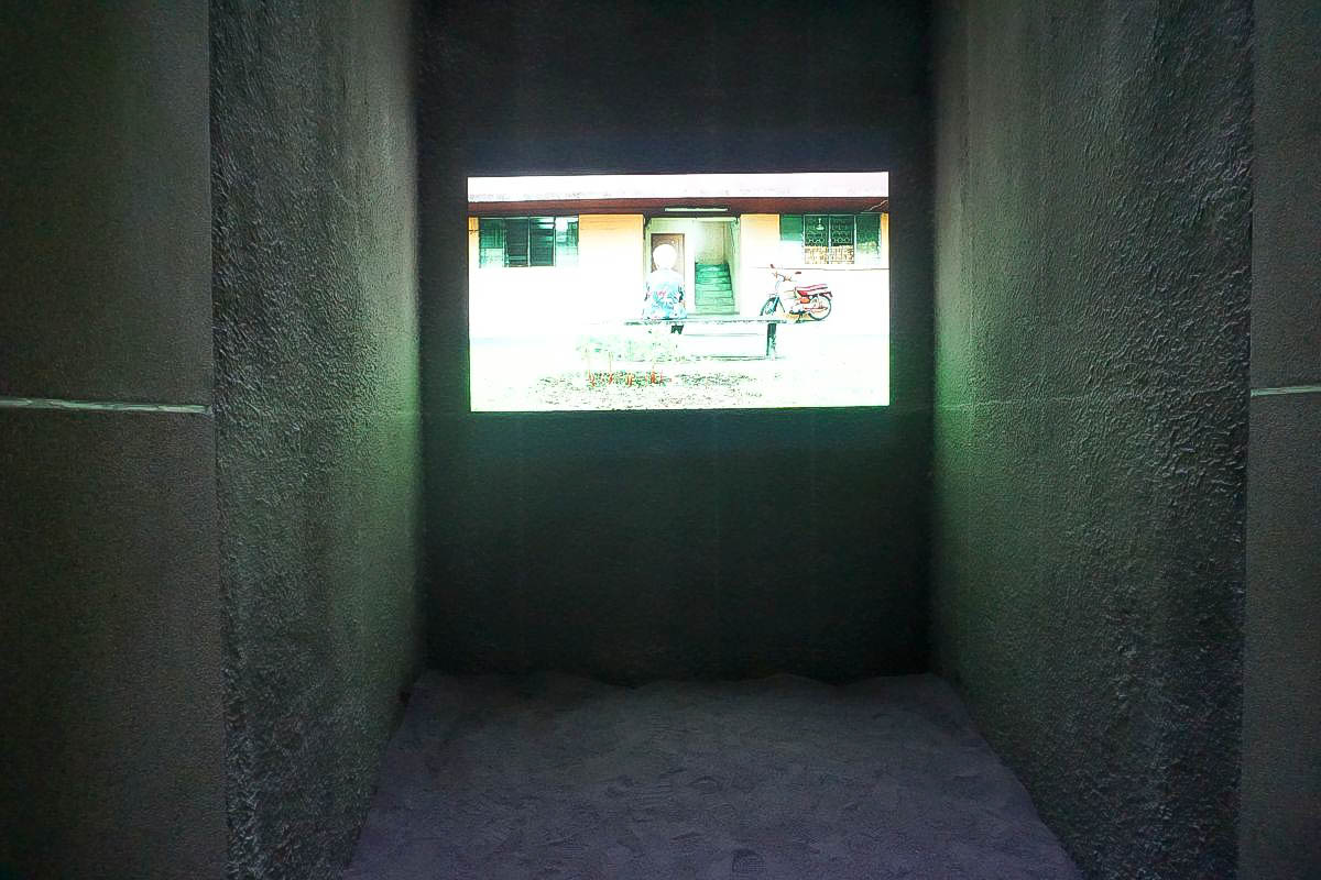 宜蘭新景點 壯圍旅遊服務園區(壯圍遊客中心):占地4.4公頃~帶小朋友去沙堆裡看電影玩沙去!用倒影看電影好酷哦(有影片)