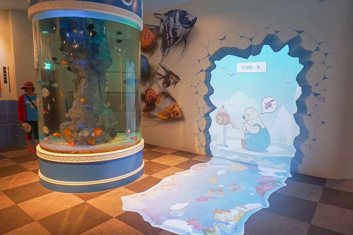 彰化親子|水銡利水龍頭觀光工廠,不限時電動車、沙灘、戲水、互動式遊樂區、3D立體彩繪,就是要玩水!