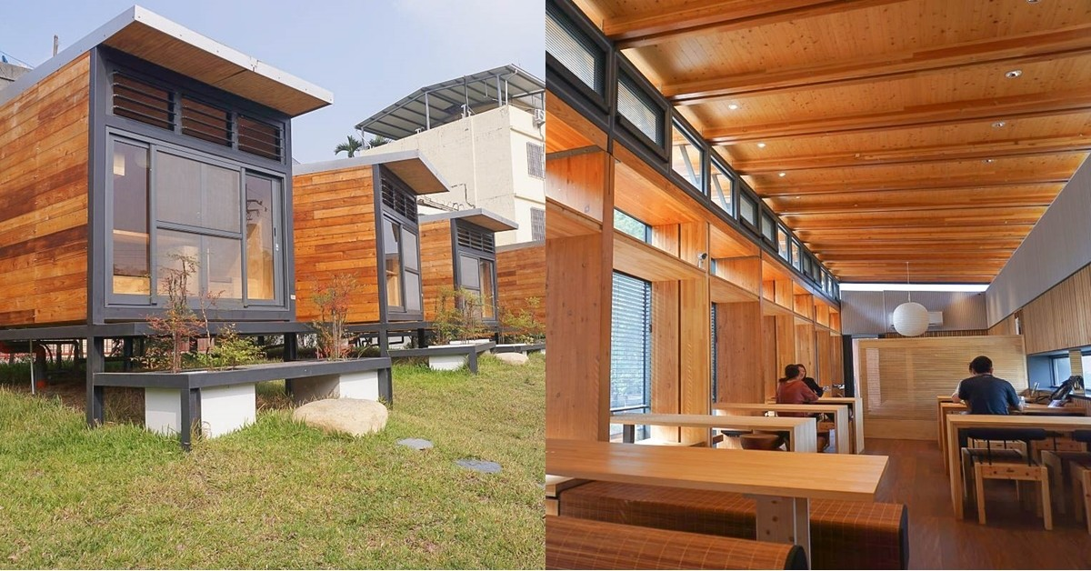 台中石岡餐廳|OnOnNature農食住實驗場:大大的落地窗、木質裝潢、低溫熟成餐點,還能體驗日式木屋住宿呢! @小腹婆大世界