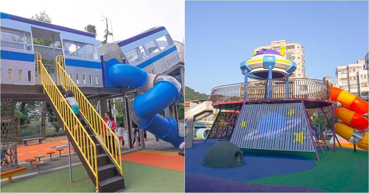 最新主題公園一次玩透透|星際探索主題、捷運主題公園、鯨魚地景公園、紙飛機主題公園,今天去哪玩?! @小腹婆大世界