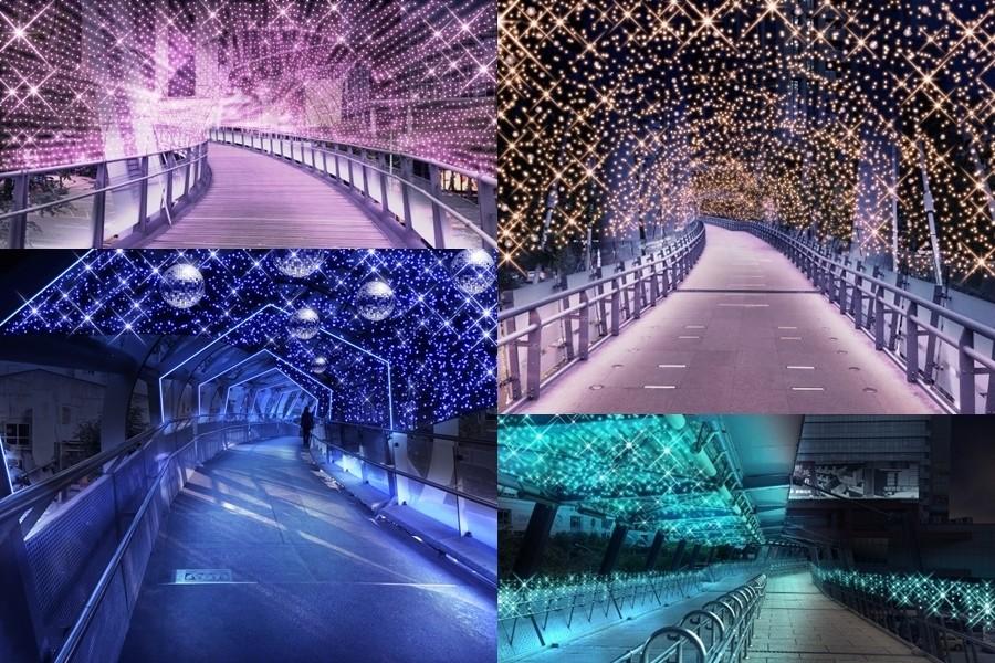 2018新北歡樂耶誕城11/16登場、15個必拍景點:玫瑰星星燈海、貨櫃市集、主燈地址、活動表、完整記錄、交通