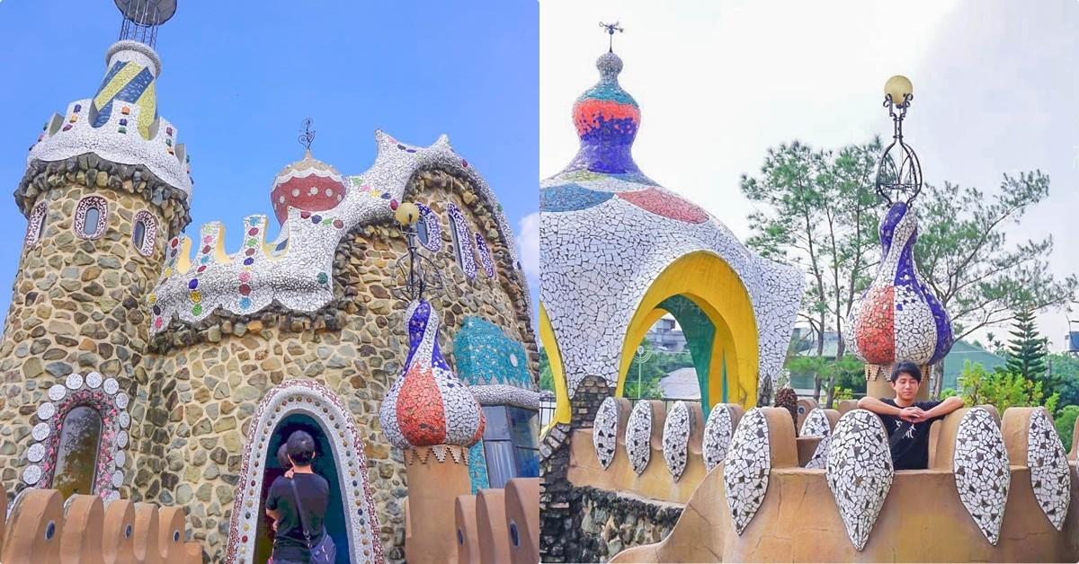 雲林|斗六摩爾花園餐廳:浪漫花園糖果屋,就像走進童話書一樣的異國氛圍,金碧輝煌的用餐區,免出國就像渡假! @小腹婆大世界