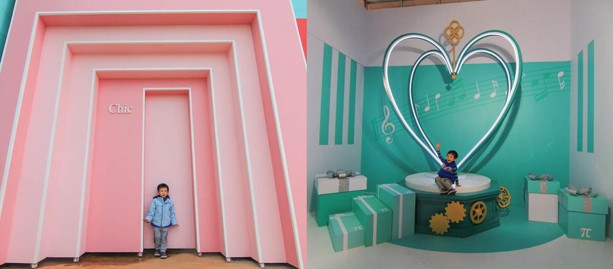 新竹新景點|薇絲山庭景觀咖啡廳+快拍明星夢:15個夢幻主題、11戶外拍攝場景,浪漫粉紅教堂、巨大鑽戒、檸檬球池,從早拍到晚!