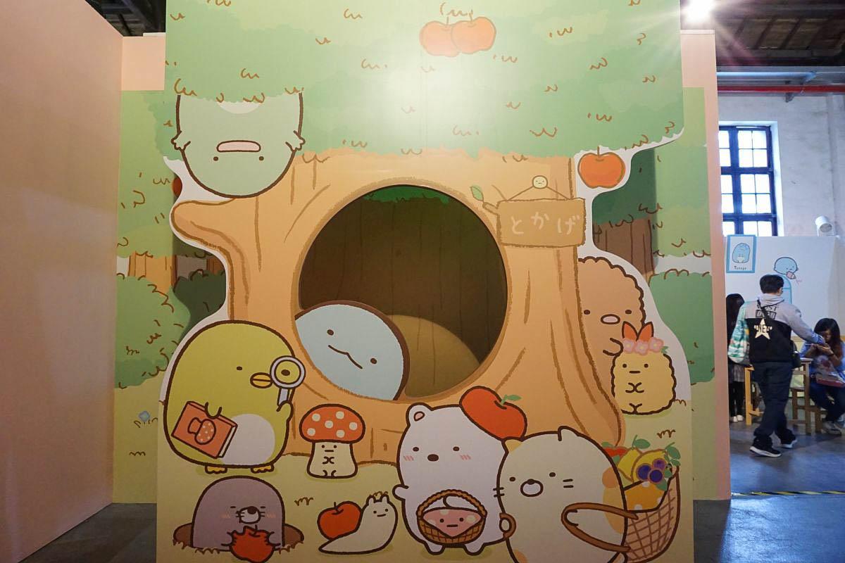 台灣首場!超療癒角落生物特展~角落小夥伴,窩在角落的生活12/23開展 跟著小夥伴旅行去、角落生物房間、神社、學堂、巧遇豬排、炸蝦!