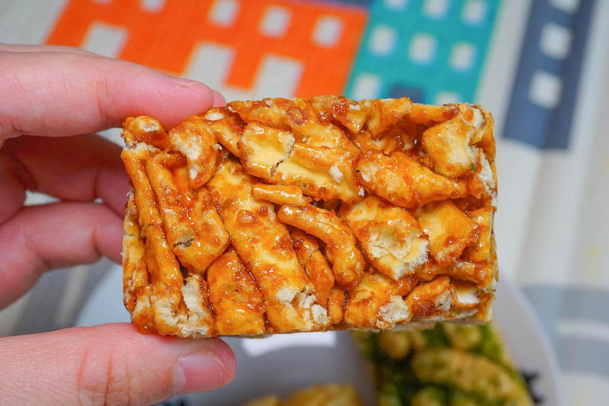 彰化隱藏版超狂銅板下午茶點心》口留香手工沙琪瑪,平均一個不到3元!三種口味一次滿足,酥脆麻花捲也好好吃!