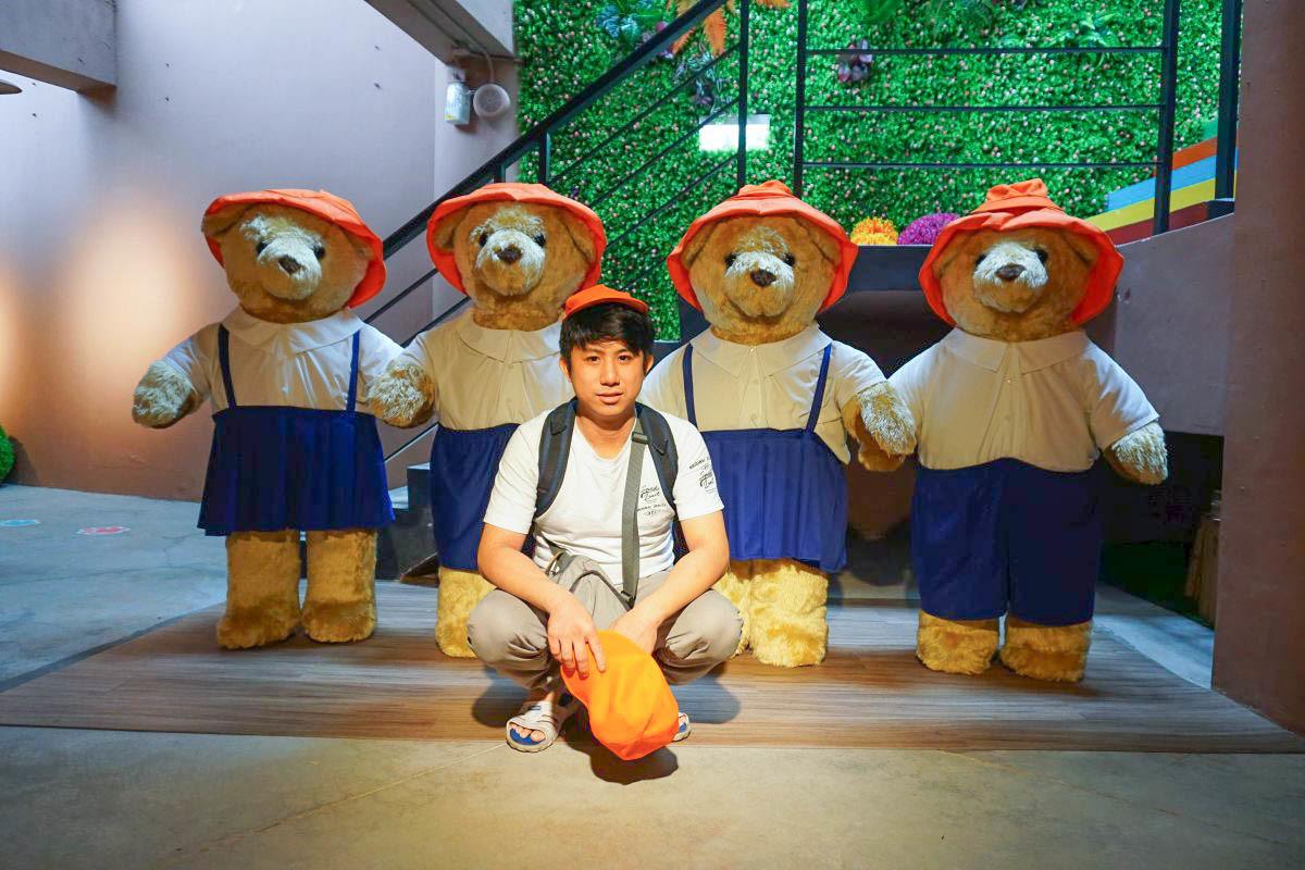 新竹景點》小熊博物館:佔地1500坪亞洲最大的泰迪熊博物館,超過3000隻環遊世界小熊,DIY小熊回家去