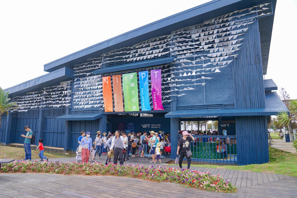 桃園免費景點|2019桃園農業博覽會一日遊:西瓜椅、動力沙、滅火互動、下雨體驗、水族箱、巨大稻草捲、兒童劇場,戶外室內玩一整天通通都免費!