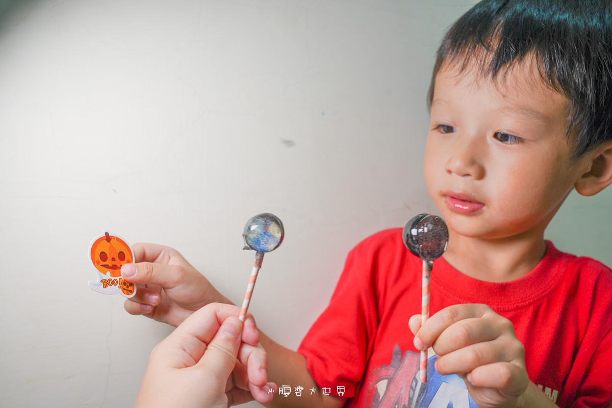 萬聖節必備!不給糖就搗蛋~給孩子的棒棒糖自己做,零失敗教學分享,波力、萬聖節、兔兔P助、冰雪奇緣、星空愛素棒棒糖~