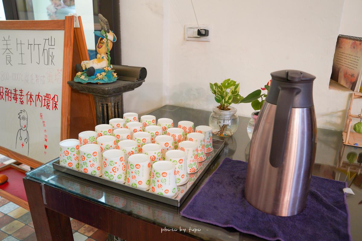 彰化新景點》一定要預訂才買得到!貝林古堡葡式蛋塔 新改版2.0:雪白城堡,免費冰咖啡、繽紛彩繪、256層現烤蛋塔好吃