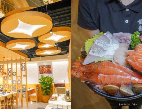 台中逢甲 銀鈎鍋物銅盤烤肉:萬八餐飲創新韓國品牌、現切肉盤、直送海鮮、大骨蔬果熬煮湯頭、菜單、生魚片、鍋物~