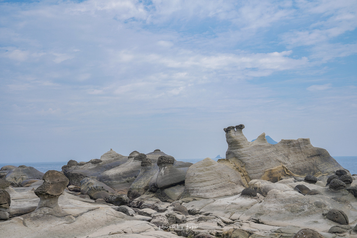 基隆新景點|阿拉寶灣開放囉(和平島公園東側)~線上預約、抹茶綠海岸、十大守護岩、巨石步道、唯美海景一次滿足!