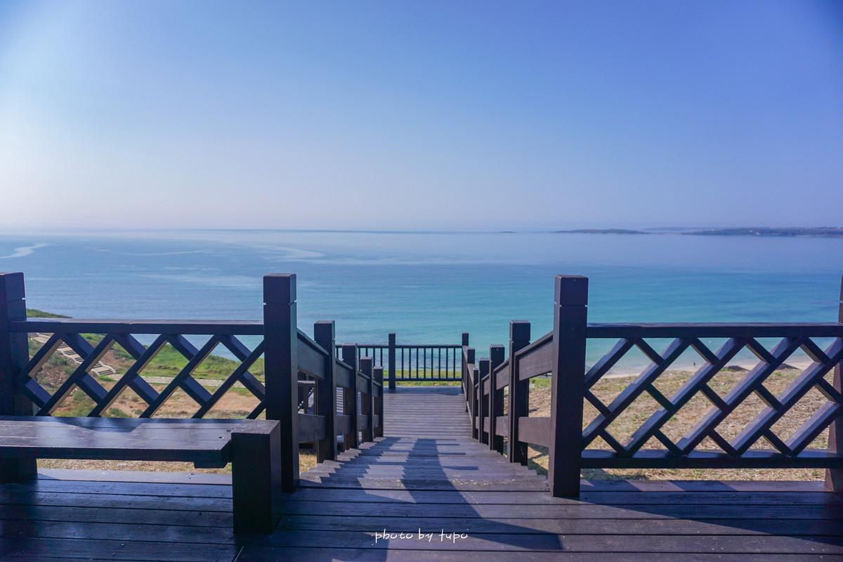 澎湖景點|內垵遊憩區木棧步道~澎湖版馬爾地夫,路邊下車就到,夢幻海景觀景台、木棧道~ IG熱門打卡點