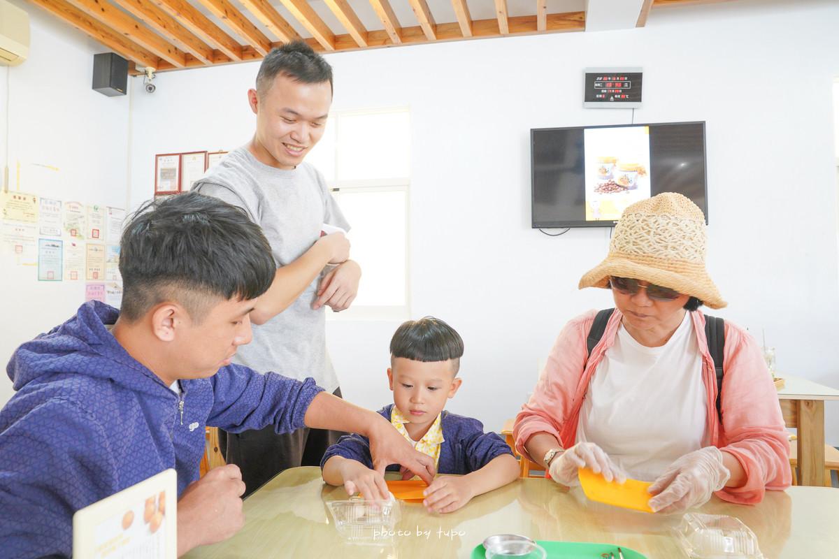 澎湖親子景點「澎福古棗味」: 超好玩的小烏龜DIY、炸棗DIY,超大氣一整盤試吃品,一邊吃一邊做,消暑飲品銅板價~