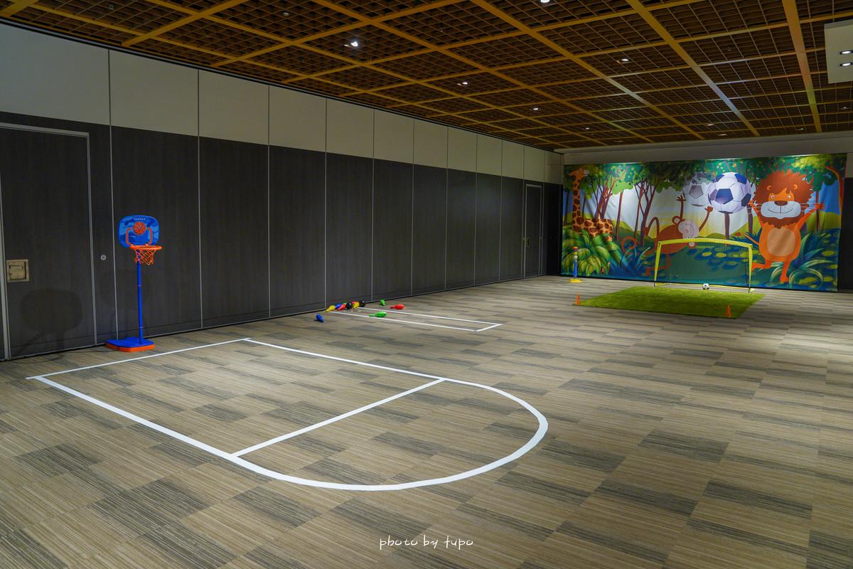 台北市親子飯店|台北萬豪酒店-樂遊島專案:從進房開始玩到退房!195坪遊樂空間:巨大球池.賽車.電玩.免費下午茶