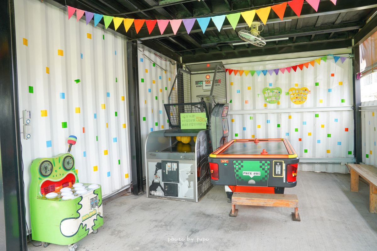 彰化員林室內景點|遊戲方塊PLAY食堂:十多種遊樂設施、兩層樓溜滑梯、釣魚、動力沙、室內遊戲區、大草皮,讓小朋友放電的親子餐廳~