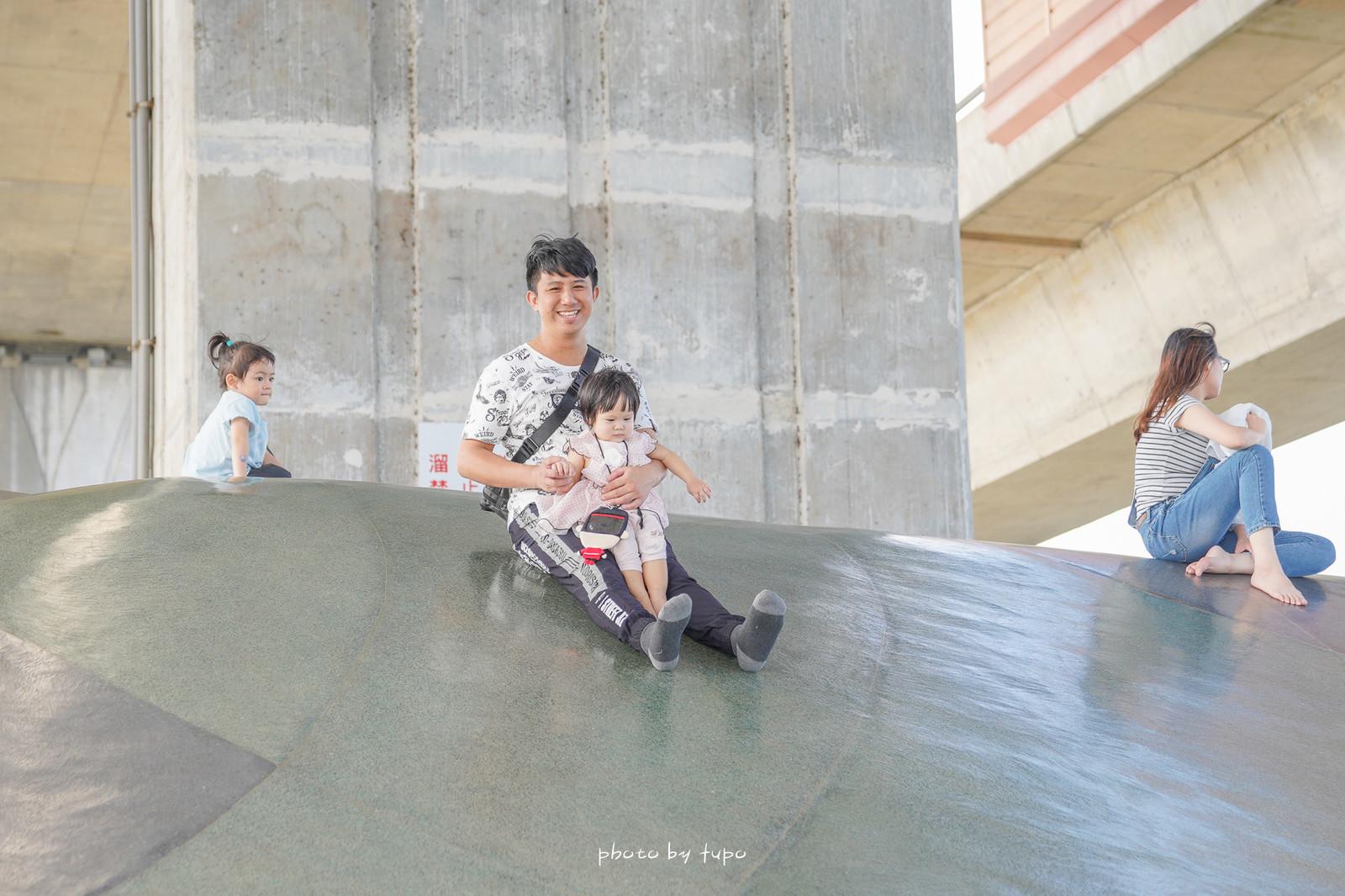 宜蘭冬山景點~高架橋下的無料遊樂場》武淵水火同源:天然湧泉泡腳池、大碗公溜滑梯,S型滑步車賽車場~