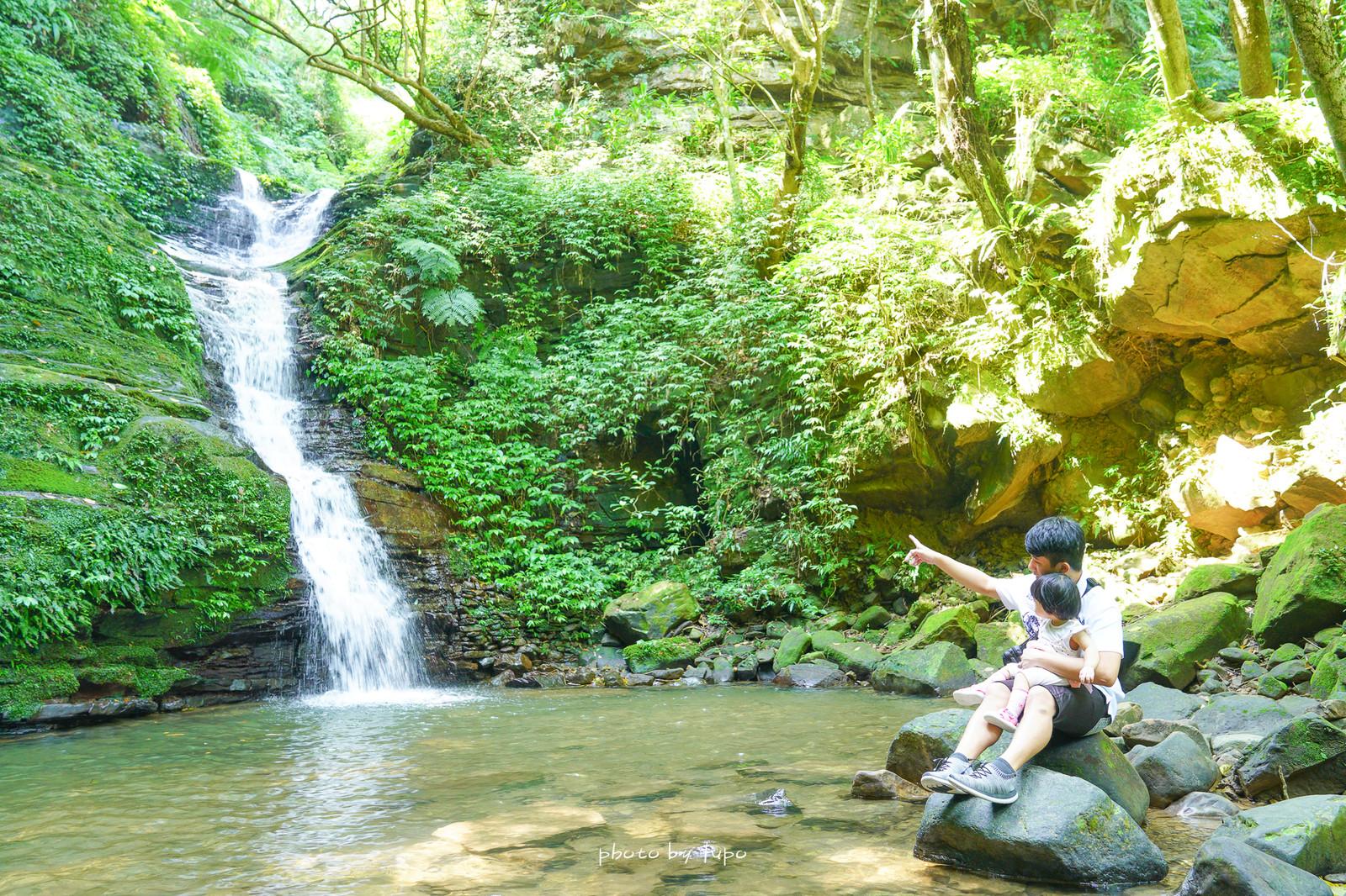 即時熱門文章:新北汐止。茄苳瀑布:低難度三分鐘抵達森林瀑布秘境,四五層樓高的多層瀑布超級消暑,水質清澈見底~