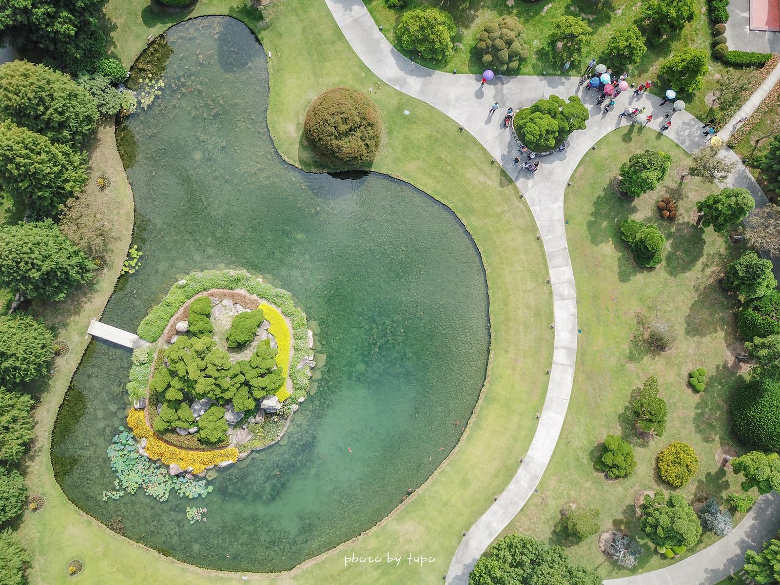 彰化景點》成美文化園2.0,佔地3.5公頃台版兼六園、平地版嘉明湖、落雨松大道、成美公堂ㄎ一ㄤˇ、浪漫紙傘區、落雨松大道讓人拍不停!