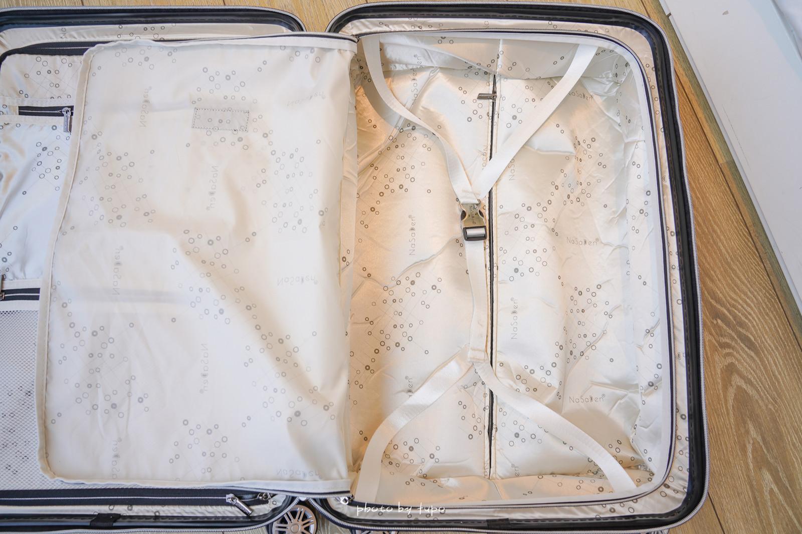 行走的藝術品》網美必備NaSaDen納莎登行李箱-Charlene祕密花園限量聯名款,26吋空箱3.8kg,360度超靜音萬向輪,隱藏式防水內袋,好推不卡卡!