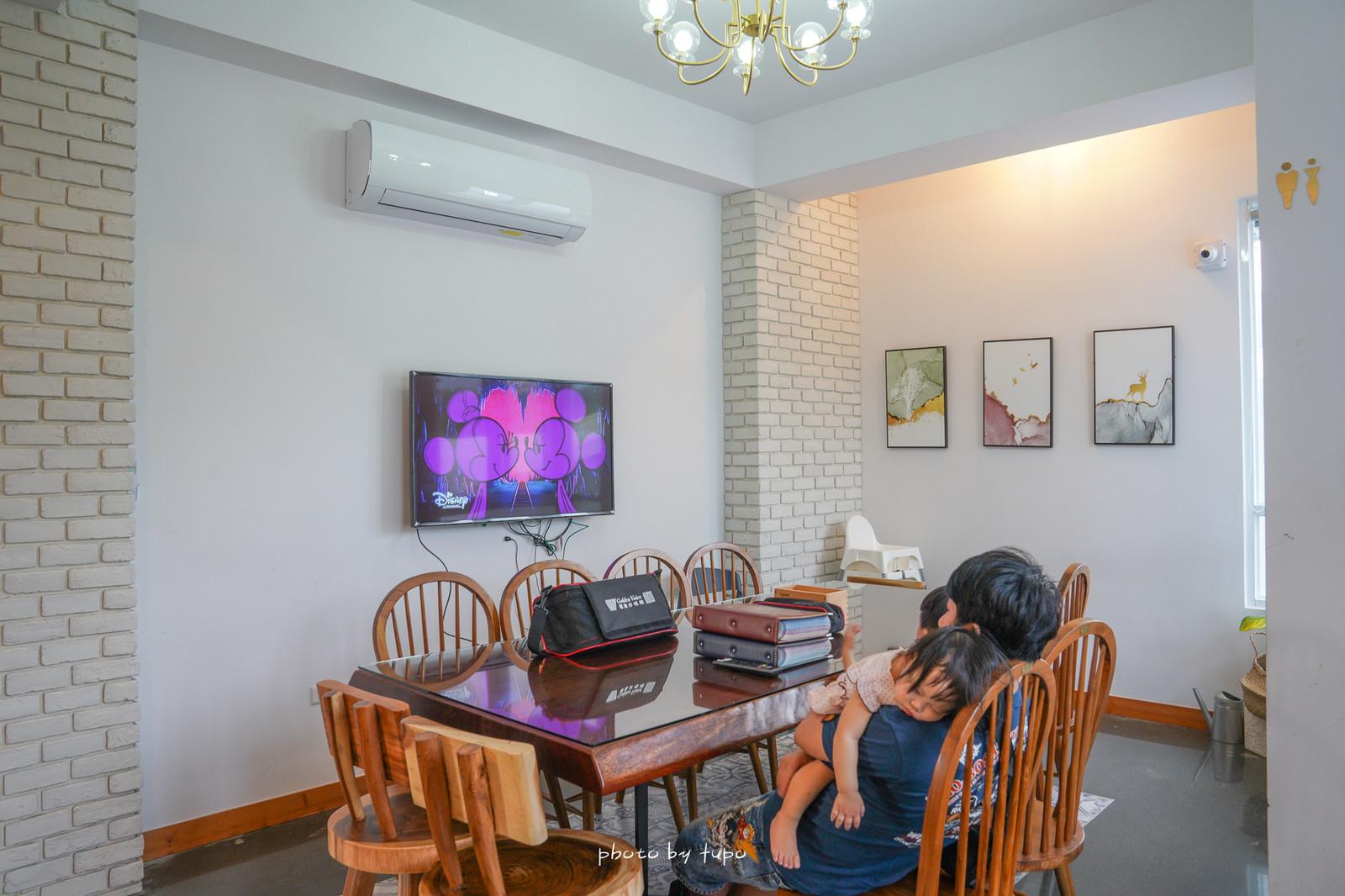 南投埔里住宿》希爾拉Villa|一天只接一組客人、唯美歐風建築、雪白戲水池、網美房、滿滿零食飲料任你吃、烤肉唱歌麻將一次滿足。