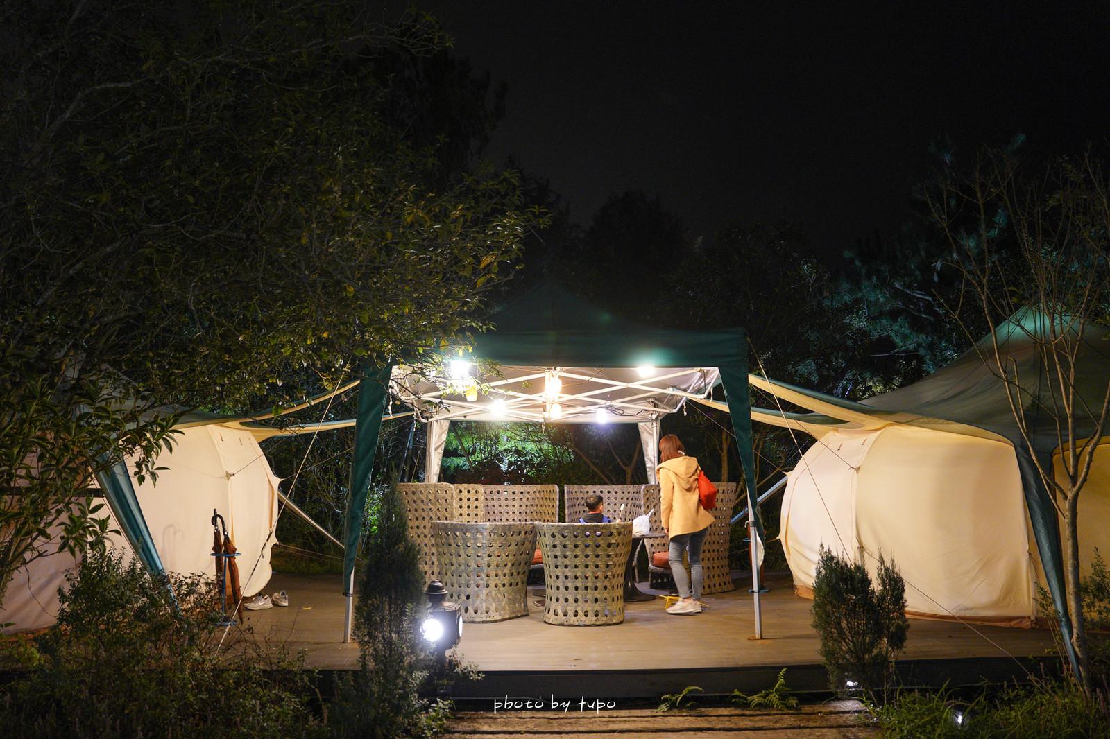 苗栗卓蘭》寨酌然野奢庄園|五星級奢華露營|一泊二食.超美露營區.兩個DIY.採果|~烤棉花糖,從入住玩到退房