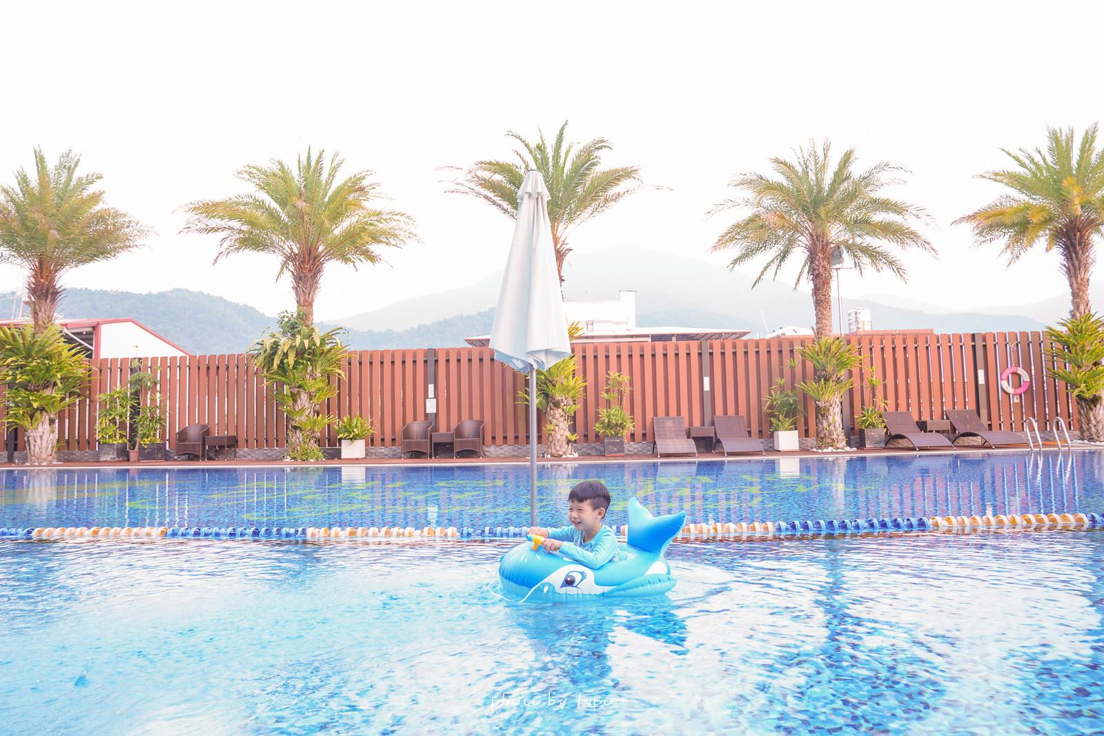 埔里親子飯店》遊戲區超狂!承萬尊爵渡假酒店,超好玩的百坪兒童賽車主題樂園、360度景觀餐廳、溫水星光SPA泳池,埔里親子住宿推薦~