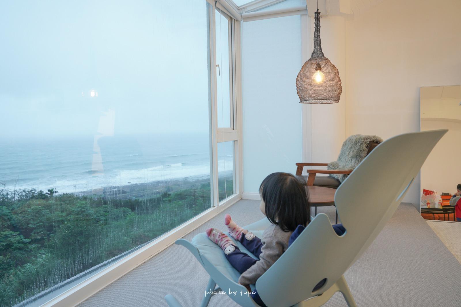 新北住宿》北海岸最美海景民宿!金山暮光民宿Twilight BnB,躺著就可以看海景,免費微醺白酒浪漫一下