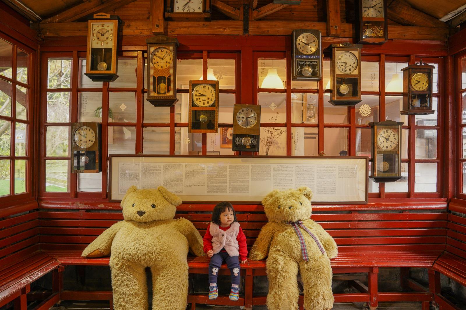 新竹景點》內灣合興車站:在鐵道遇上愛,復古車站,藍皮普快列車,愛情溜滑梯,好拍照的免費景點