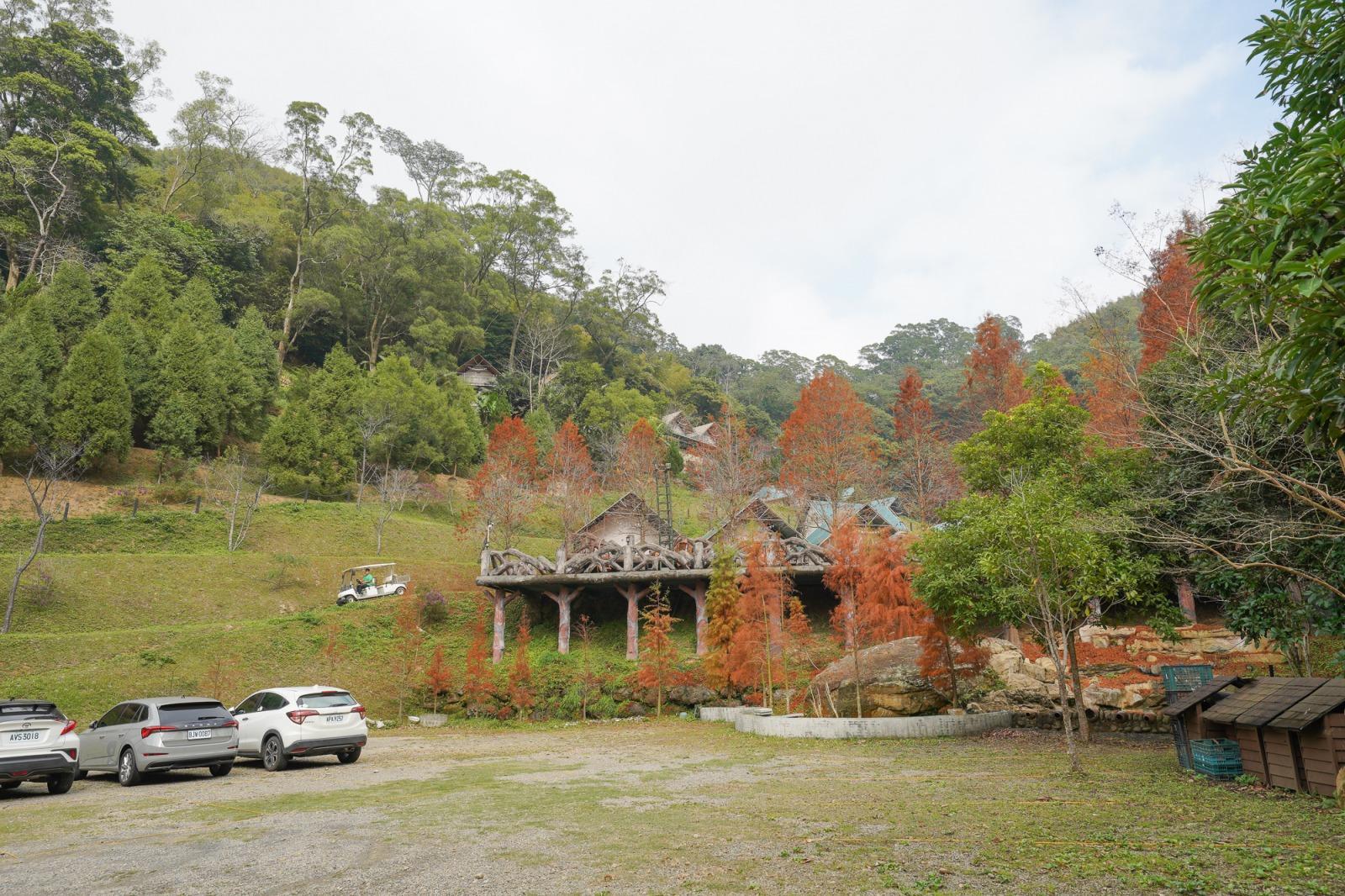 新竹豪華露營》山中童話森林~野漾莊園!兩萬坪的山中奢華露營,一咖行李箱就入住、獨立衛浴、冷暖空調、玩水、星空電影院超浪漫!