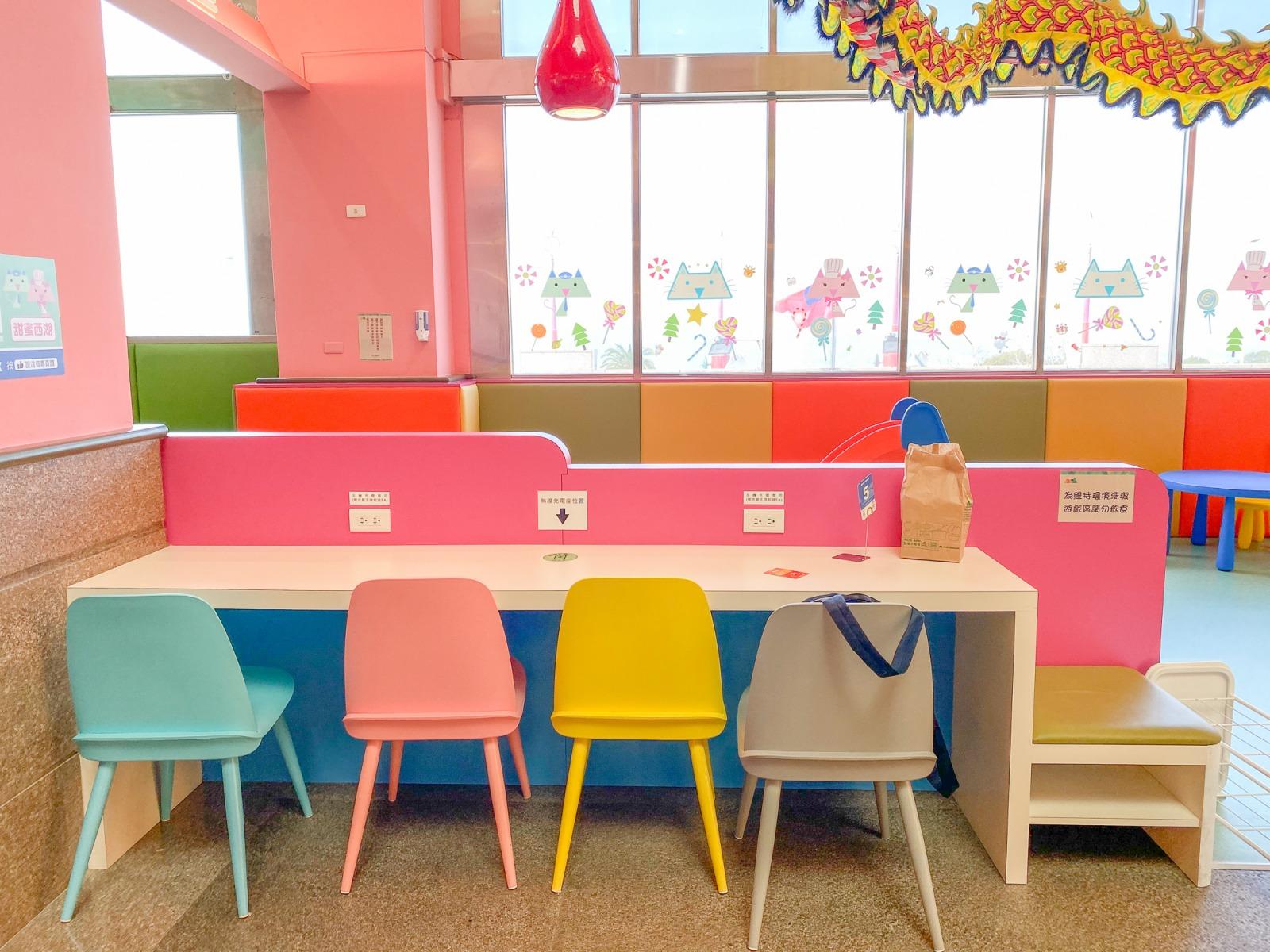 免費親子景點》苗栗西湖休息站親子區~ 打造彩虹兒童遊戲區、樹屋、扮家家酒、搖搖馬通通都來!