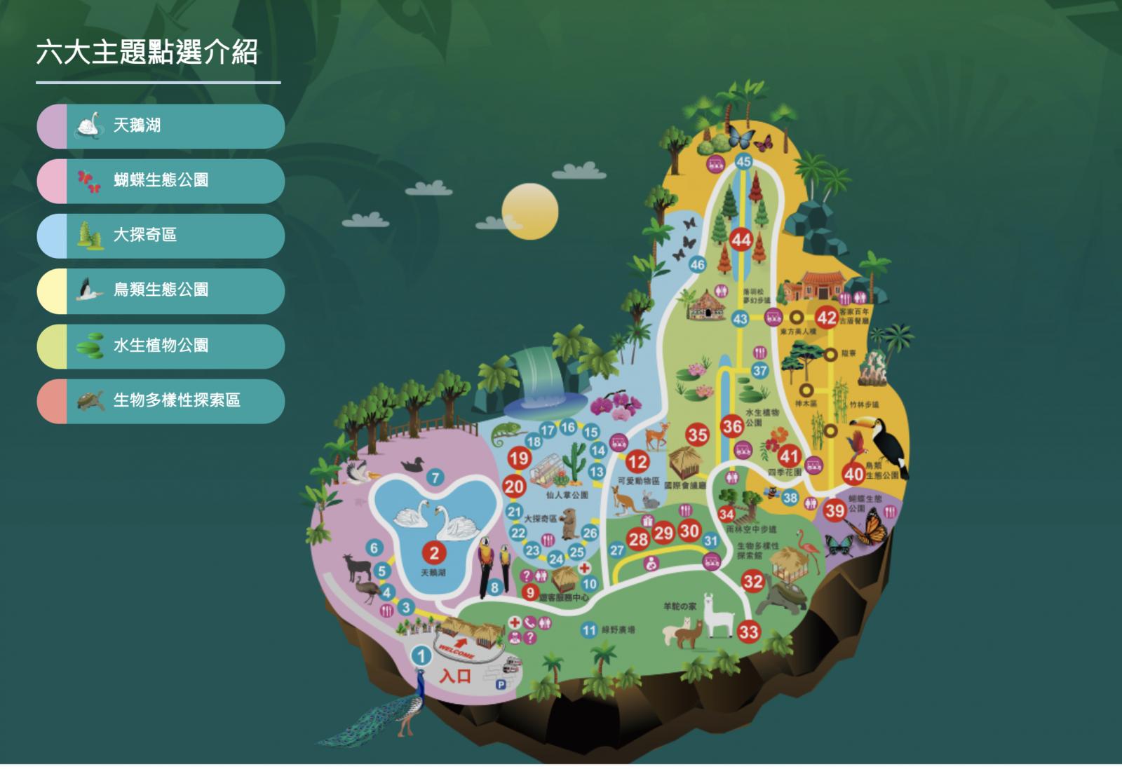 綠世界生態農場-地圖