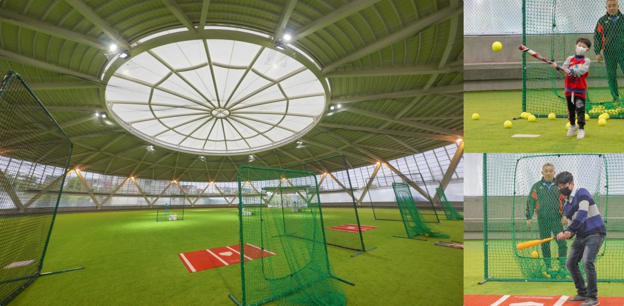即時熱門文章:桃園新景點》名人堂全新室內打擊練習場~保證打得到、小朋友也可以打、100元40顆就可以打高高,適合想當棒球明星的你們