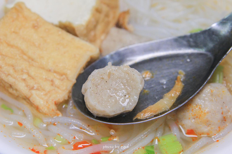 三星美食》市場內的隱藏美食!阿川米糕.魚丸米粉,傳承40年的味道,早午餐來碗熱呼呼的米粉配上米糕超級幸福~