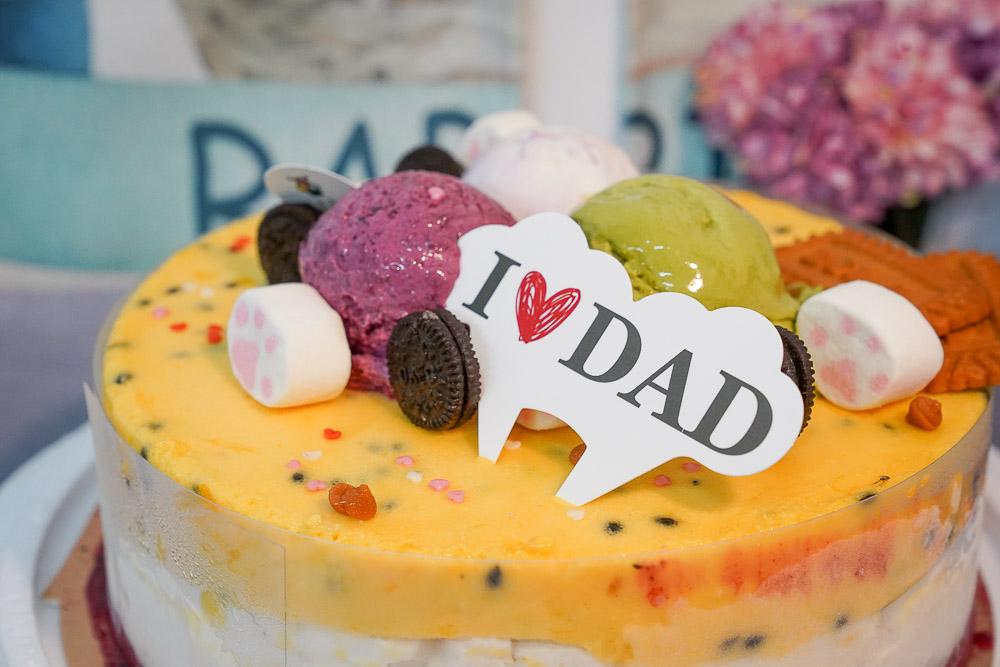 宅配美食》秒殺義式冰淇淋蛋糕!尋光小徑 義式冰淇淋,新鮮水果變成蛋糕,酸酸甜甜雪酪真的超級好吃~