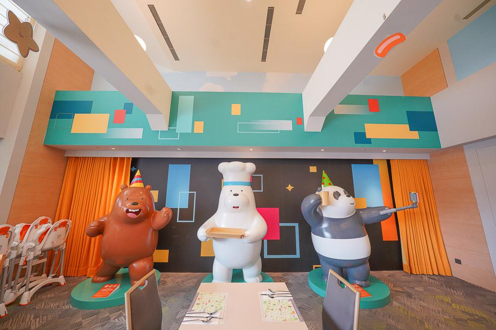 台南親子飯店》和逸飯店台南西門館:全台唯一卡通主題飯店,奇趣操場小火車.電動車.玩沙玩水.室內遊戲區