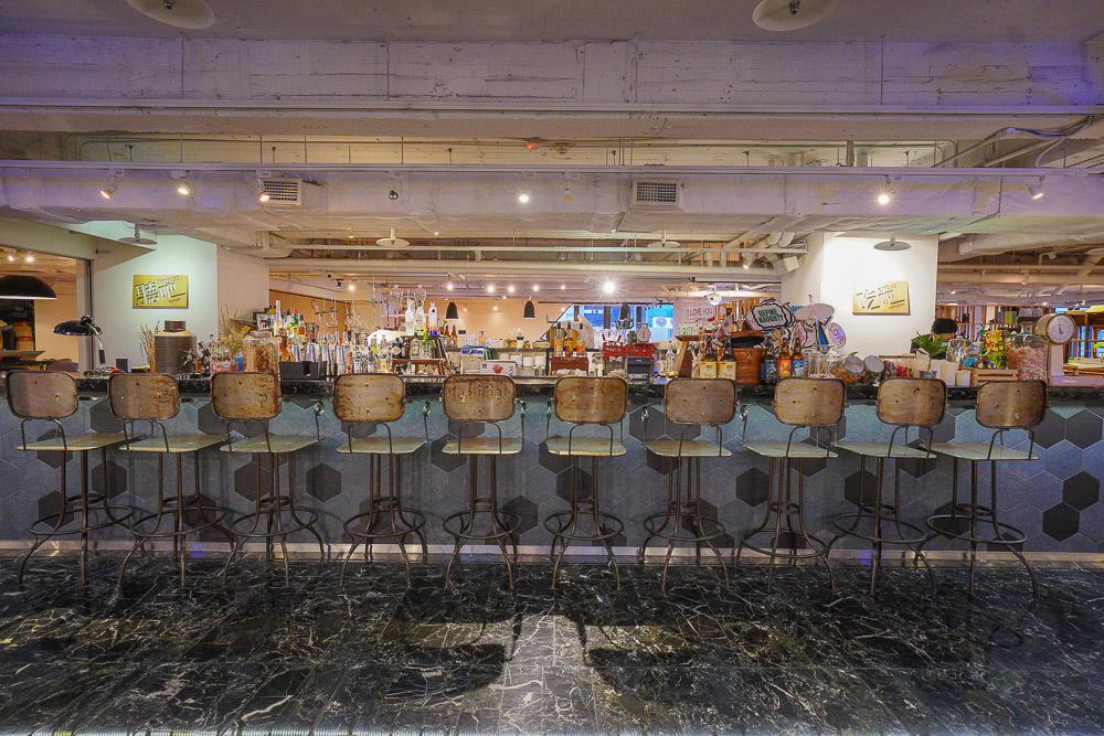 台北西門町美食》全日吃到飽!吃吧餐廳Chiba:台北西門町意舍酒店裡的早午餐.下午茶.牛排海鮮晚餐餐廳