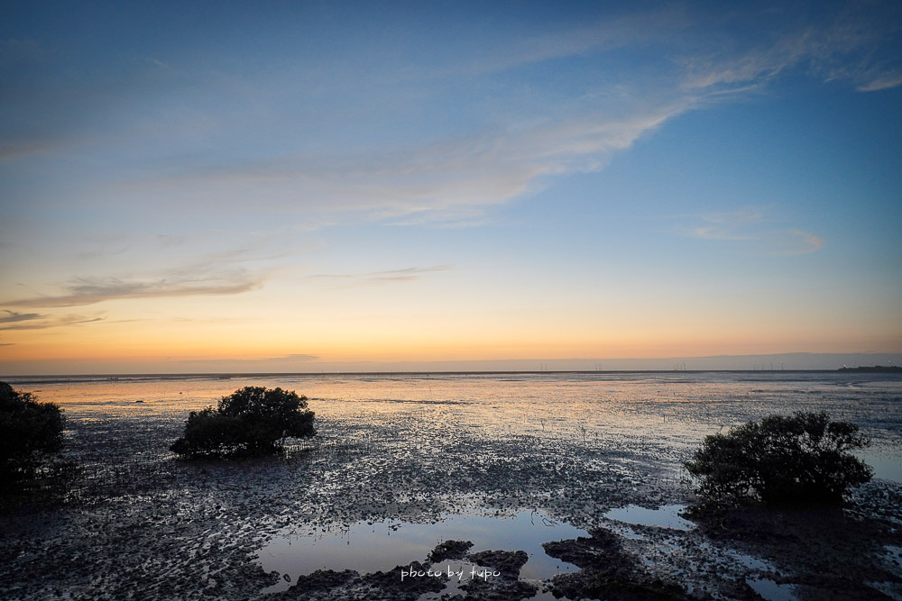 彰化景點》芳苑海空步道,台灣版摩西分海,豐富溼地生態,地圖停車場指引